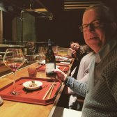 Dinner in Tokyo with our sales partner, Vinorum